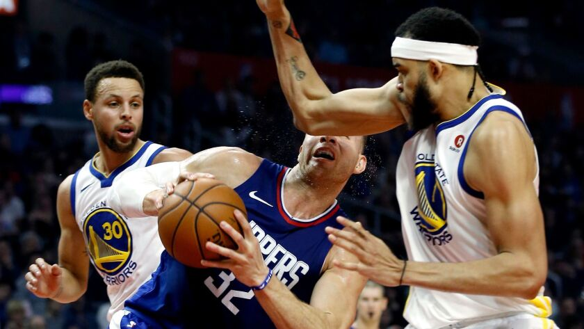 save off 67eb9 f907d Steph Curry's 45 points give Clippers a headache, Warriors ...
