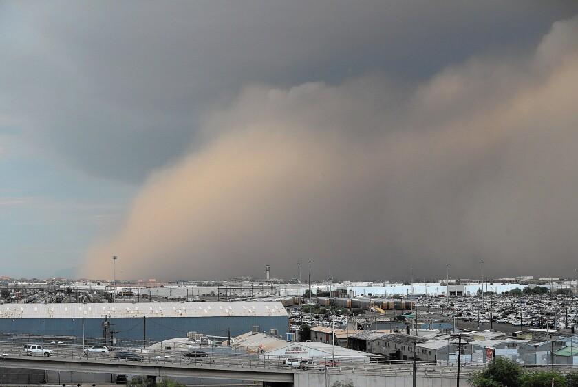 Phoenix sandstorm