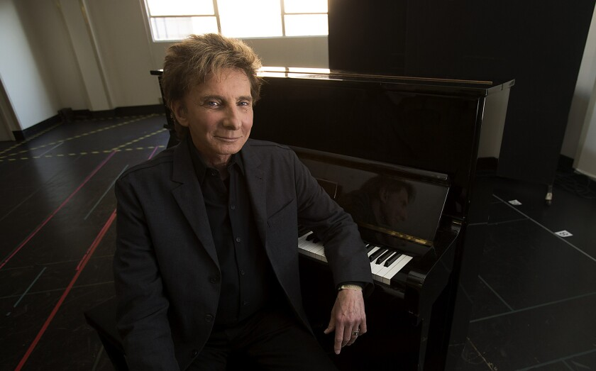 Barry Manilow exchanged vows last year with Garry Kief, according to reports out Wednesday.