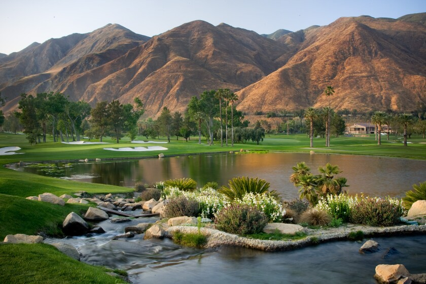 Soboba Casino Resort's newly redesigned Soboba Springs golf course is postcard worthy.