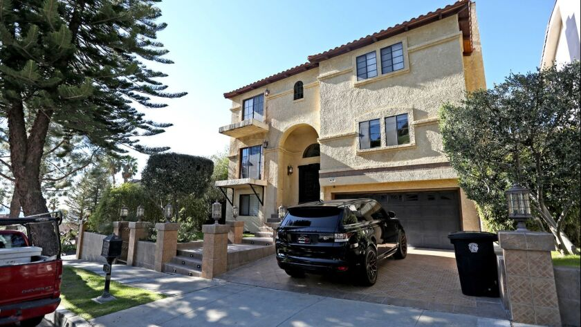 The home at 512 S. Via Montana had one vehicle parked in the driveway on Friday, Jan. 25, 2019. The