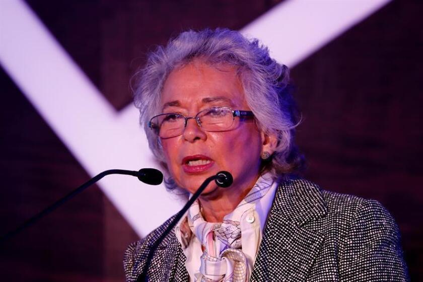 La futura ministra de Gobernación de México, Olga Sánchez Cordero. EFE/Archivo