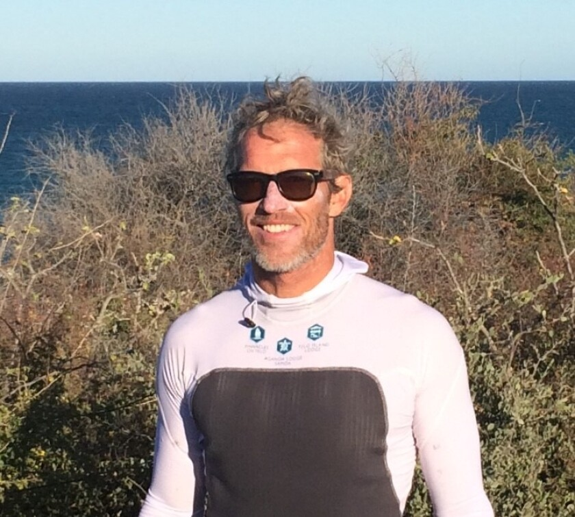 Alex Cook is a former Wall Street trader turned surfer and novelist.