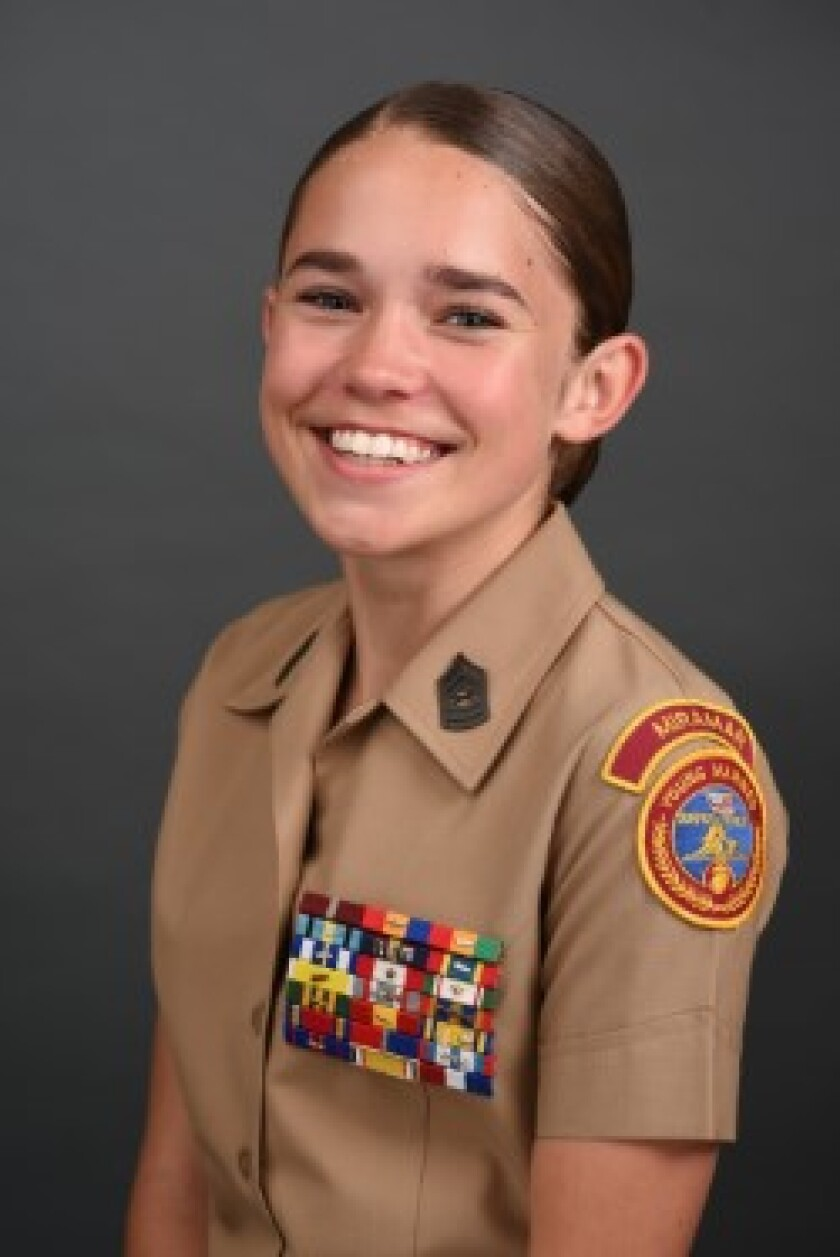 Sophia Righthouse, Young Marines