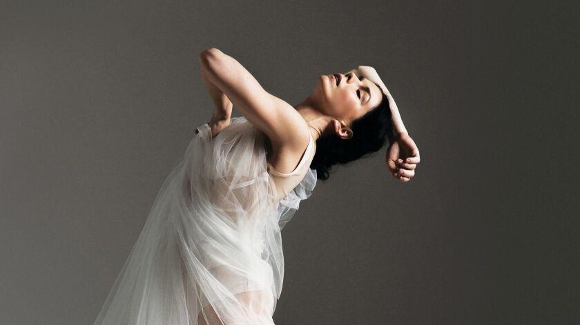 """Natalia Osipova portrays legendary dancer Isadora Duncan in """"Isadora"""" at Segerstrom Center."""