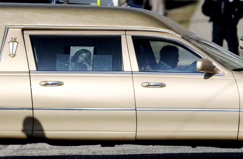 Funeral for Whitney Houston