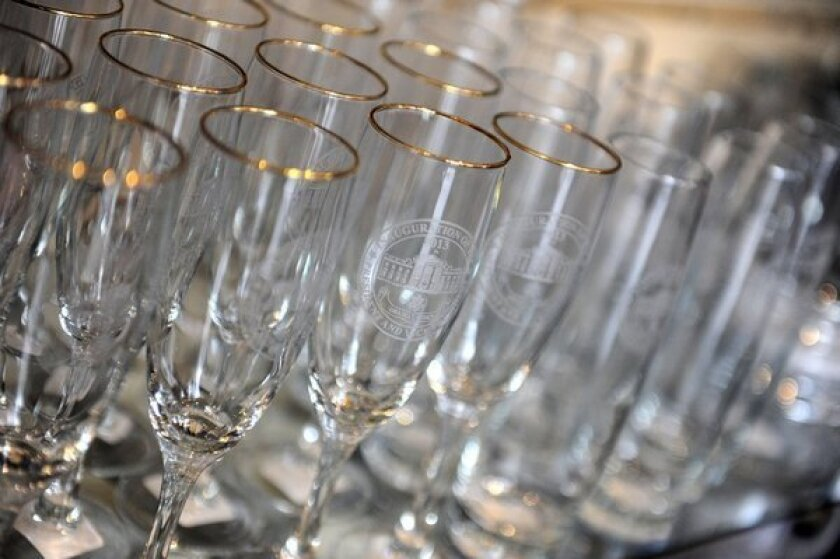"""California """"Champagne"""" to be served at President Obama's inauguration irks French bubbly lobby."""