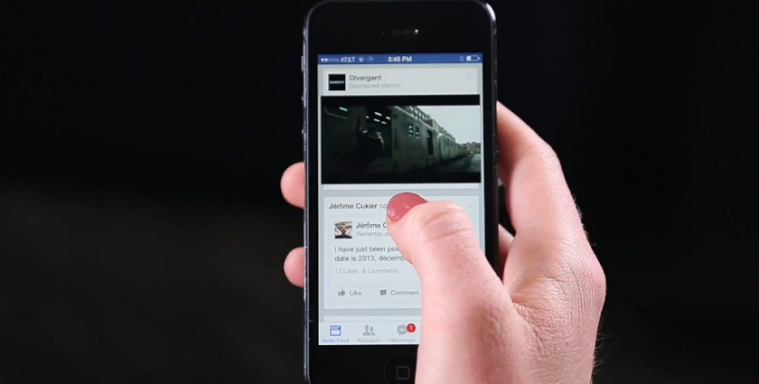 Facebook said it will start showing video ads in some users' news feeds this week.