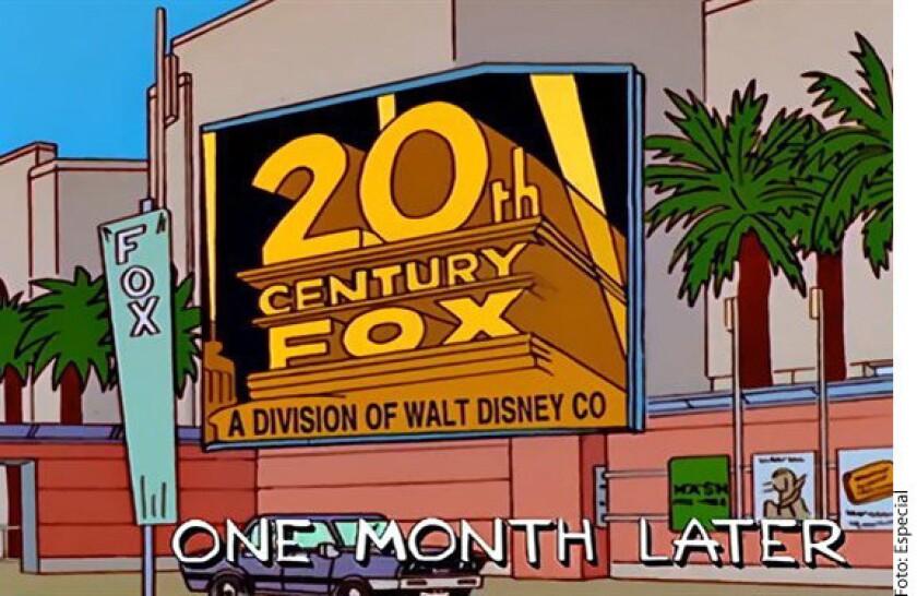 Los Simpson predijeron en 1998 que Disney compraría Fox, como sucedió este jueves.