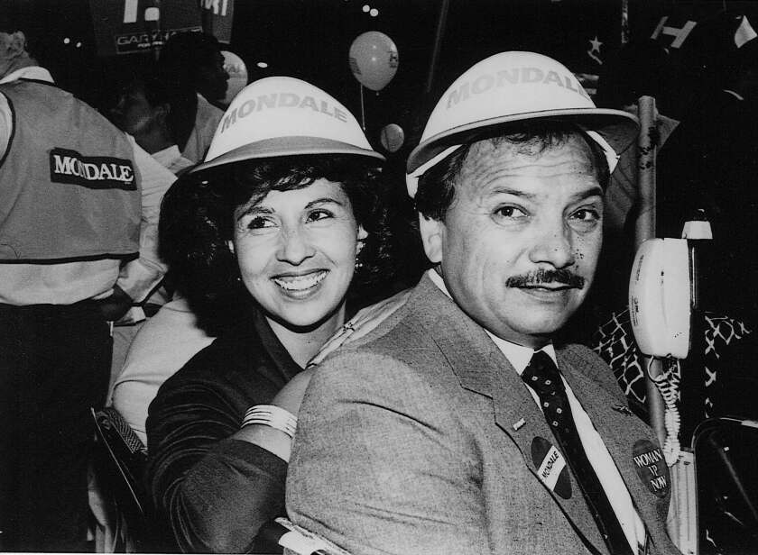 Henry Lozano, right, was a trusted mentor to Atty. Gen. Xavier Becerra in the 1990s when Becerra ran for Congress.