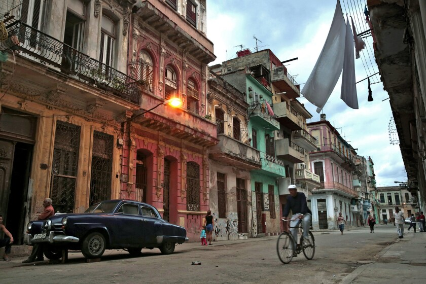 Parts of Old Havana are being restored for foreign tourists. A California trade mission is heading to Cuba.
