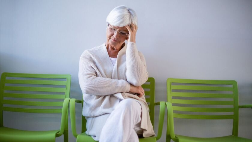 About 90 percent of caregivers cite stress as having the most impact on their lives.
