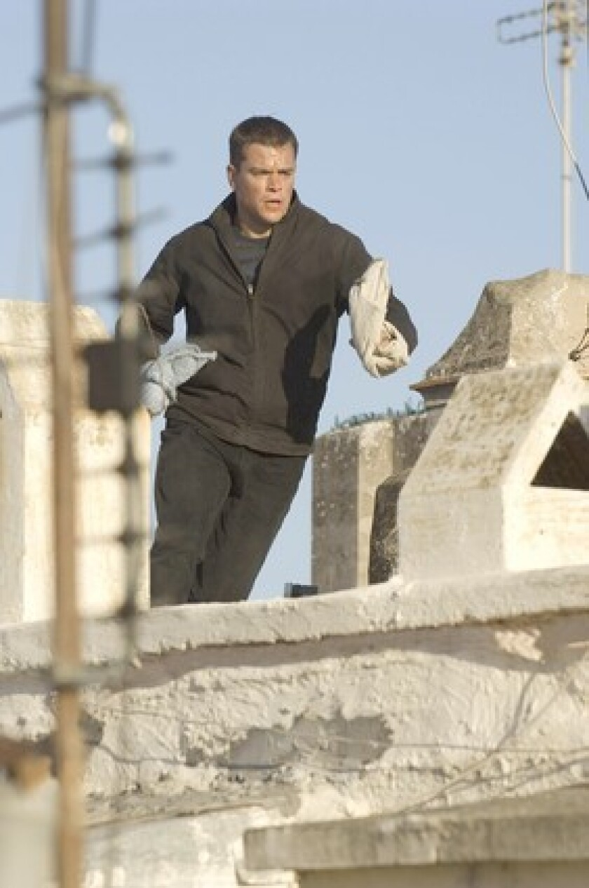 Flying from rooftops, Jason Bourne returns to the screen.