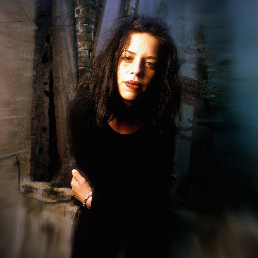 Spoken word poet and novelist Maggie Estep in 1994.