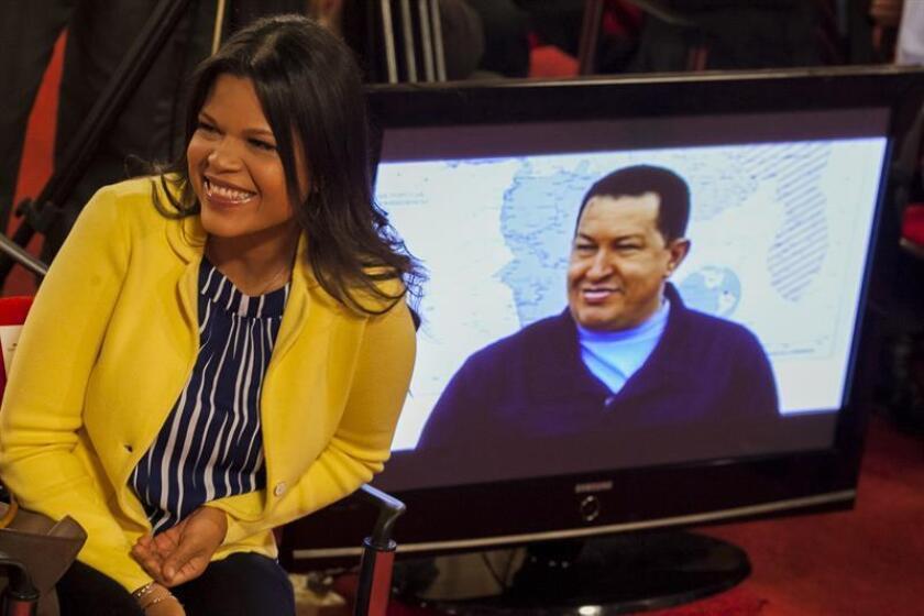 Fotografía de archivo de María Gabriela Chávez hija del fallecido presidente Hugo Chávez. EFE/Archivo