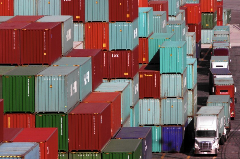 Port congestion is a drag on U.S. economy