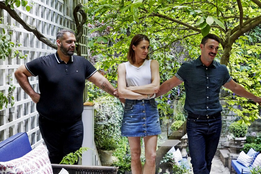 Brooklyn trio creates sky-high leafy perches on Bravo's 'Backyard Envy'