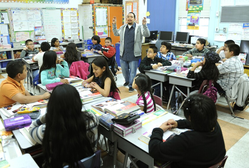 Interest in teaching continues to drop in California