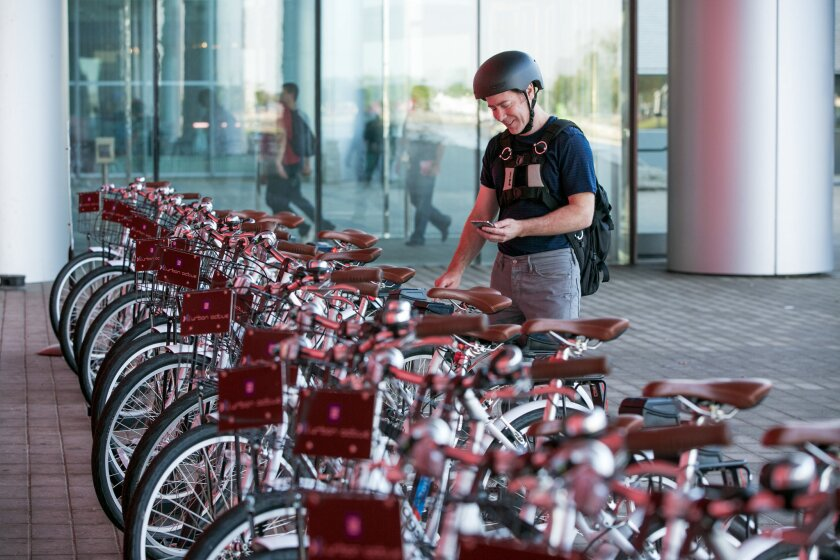 General Motors will start a bike-share program at its Warren Technical Center in Warren, Mich. The program is the first of its kind from any U.S. automaker, and will enable its 19,000 employees to commute on and off campus.