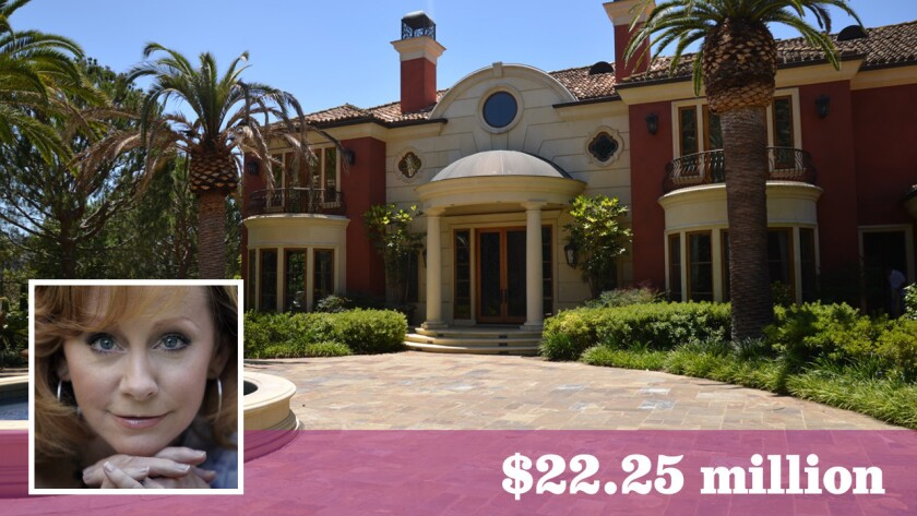 Grammy-winning singer Reba McEntire has sold her Beverly Park estate for $22.25 million off-market.