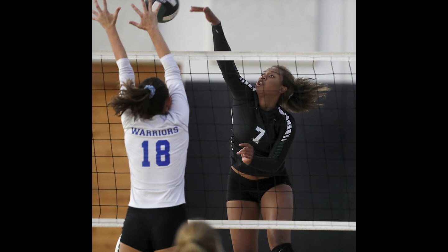 Photo gallery: Sage Hill vs. Saddleback Valley Christian in girls' volleyball