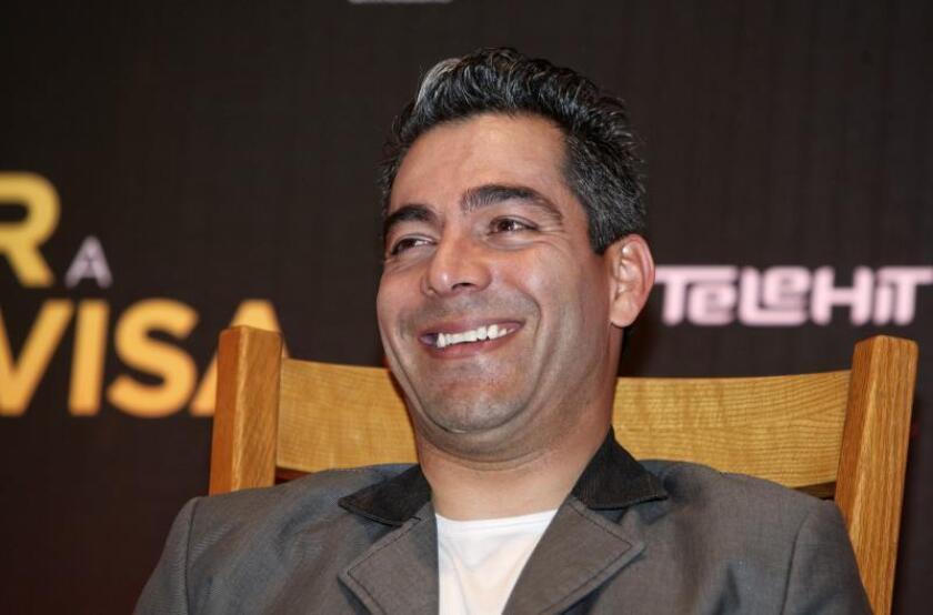 Imagen de archivo del actor mexicano Omar Chaparro. EFE/Archivo