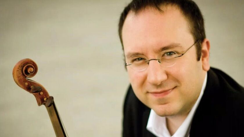 Guest violinist David Bowlin will perform Beethoven's Violin Concerto in D major, Op. 61.