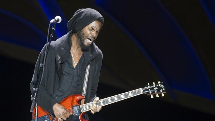 Gary Clark Jr. will play Humphreys Concerts by the Bay, Aug. 2 and 3 (Sean M. Haffey)