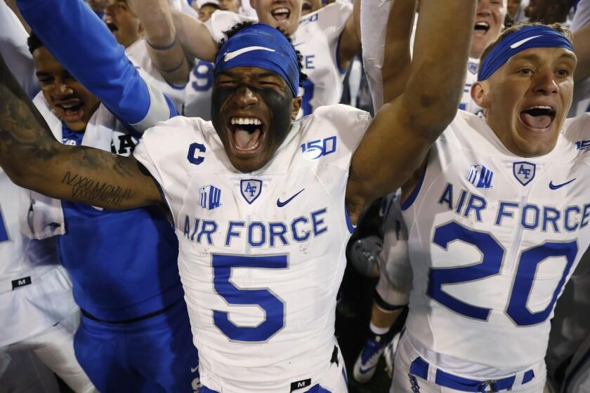 Utah St Air Force Football