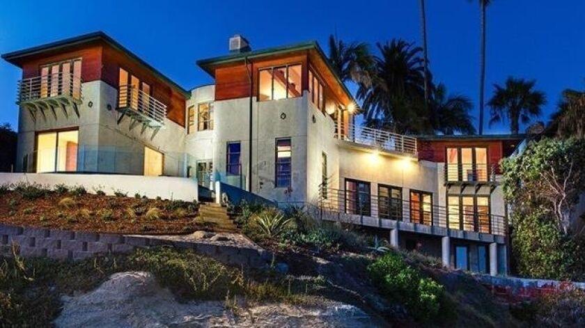 6106 Camino de la Costa - $12 million This beach front property in La Jolla is 6,163-square feet wit