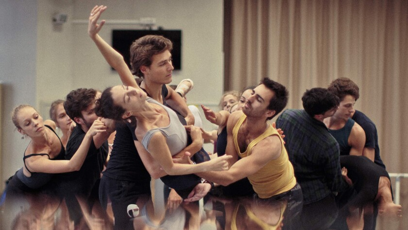 """Dancers of the Paris Opera Ballet in the documentary """"Reset."""""""