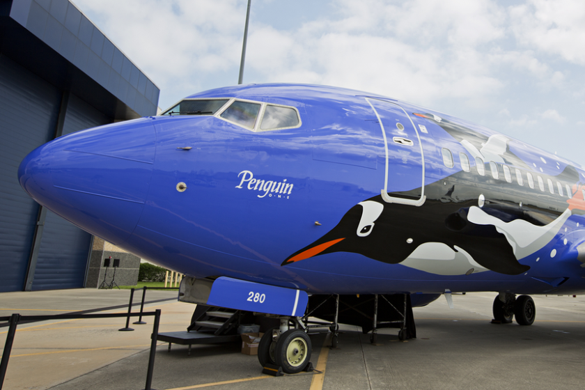 Southwest Airlines' Penguin One.