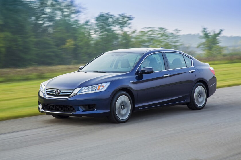 Honda's Accord took the lead in California last year with a hefty 17% increase over 2013 sales. Honda has seen increasing Accord sales, both in California and nationally, since the automaker overhauled the sedan.