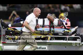 Expecting William Gholston neck injury to not be severe