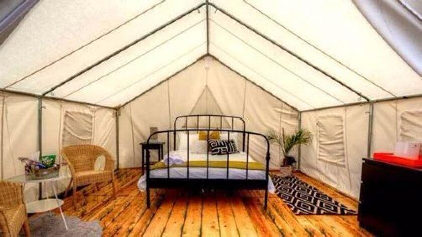 Marriott safari tent