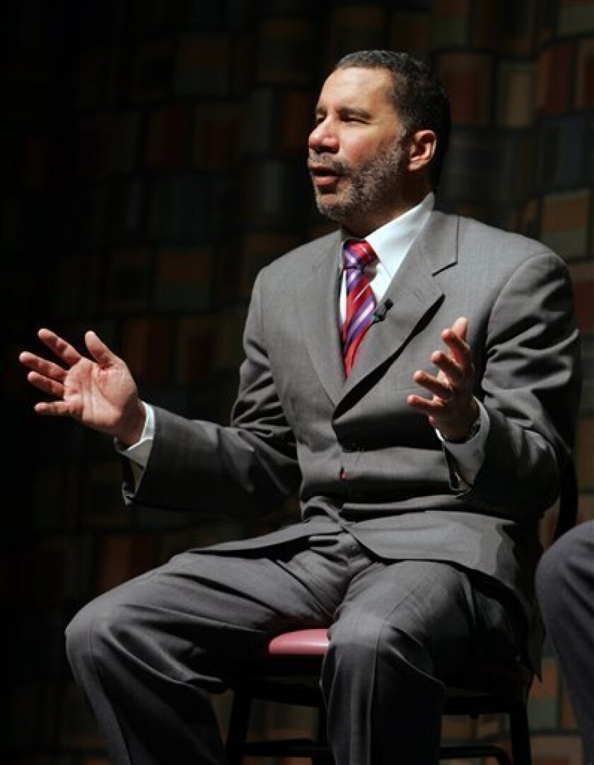 New York Gov. David Paterson speaks during a student town hall meeting at Morrisville State College in Morrisville, N.Y., Thursday, Feb. 12, 2009. Paterson has created a stimulus cabinet to help match project proposals to federal criteria as well as to help county and municipal governments get their projects approved. So-called shovel-ready projects are already identified statewide. (AP Photo/Mike Groll)
