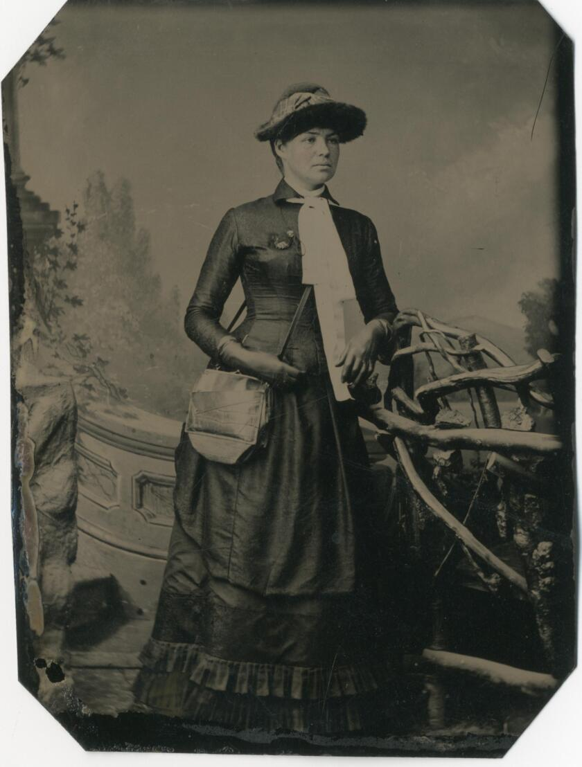Mary Foy, Los Angeles city librarian in 1880s