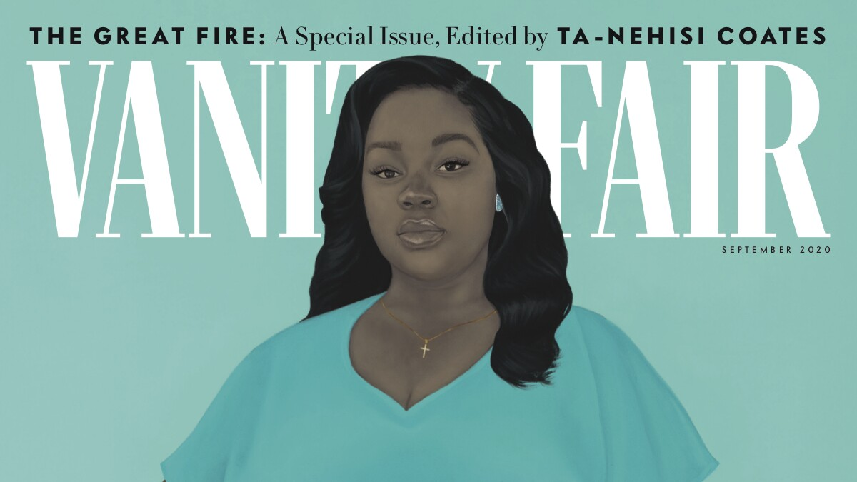An Unflinching Portrait Of Breonna Taylor Graces Vanity Fair Los Angeles Times