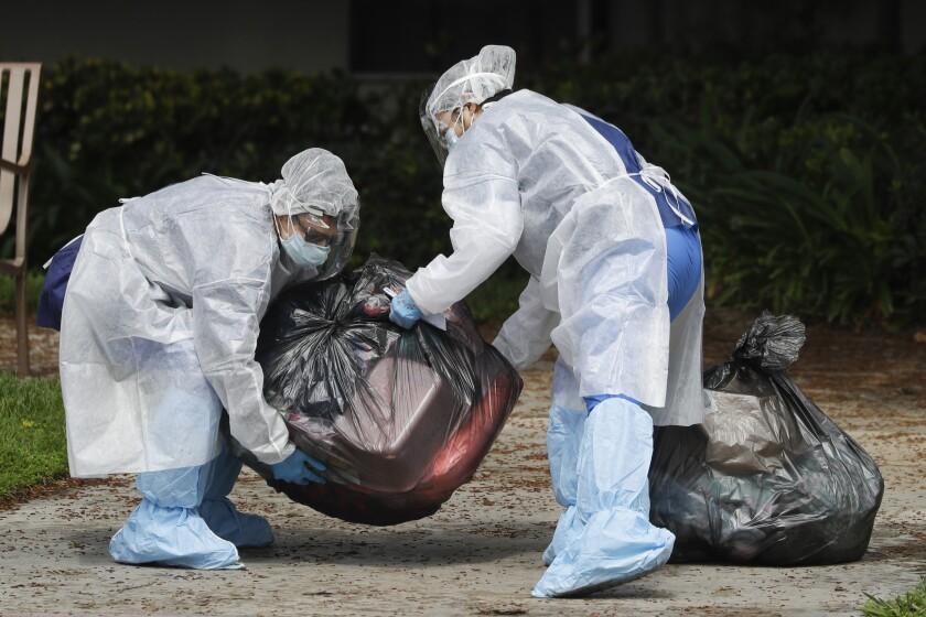 Virus Outbreak California Testing