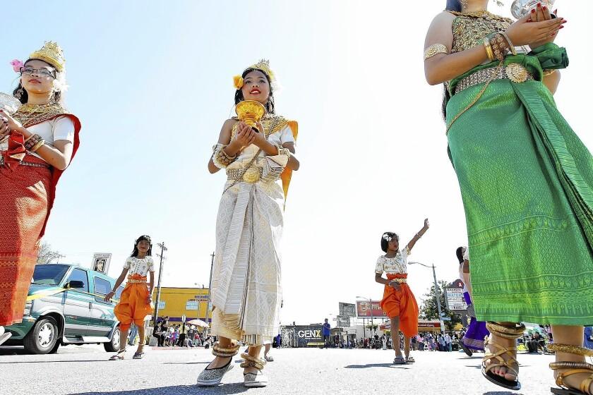 Cambodian New Year parade resumes
