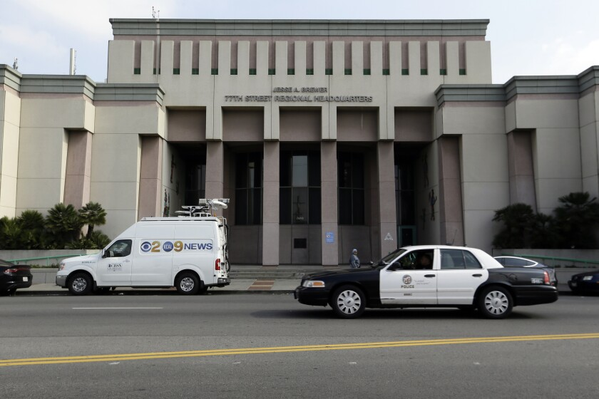 LAPD Custody Death