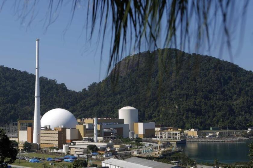 Brazilian nuclear power plant goes up in natural paradise