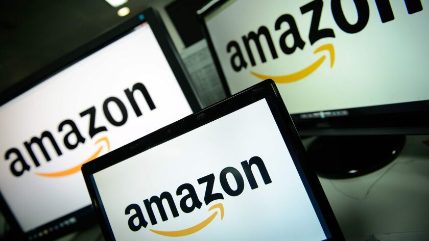Amazon is reportedly in talks with JPMorgan Chase and Capital One about a product similar to checking accounts.