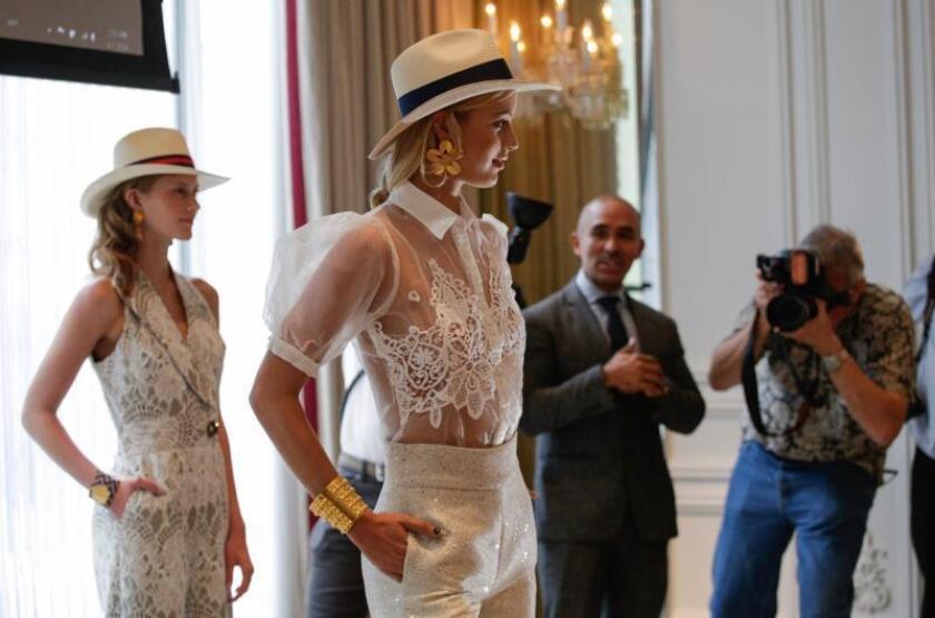 Raúl Peñaranda lleva su Colombia natal a la Semana de la Moda de Nueva York
