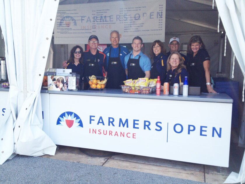 The Del Sol Lions Club volunteered Feb. 5-8 at the Farmers Open at Torrey Pines, raising more than $4,000 for local community projects and programs.