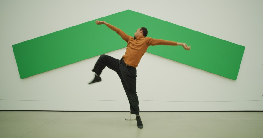 Mike Tyus at the Broad