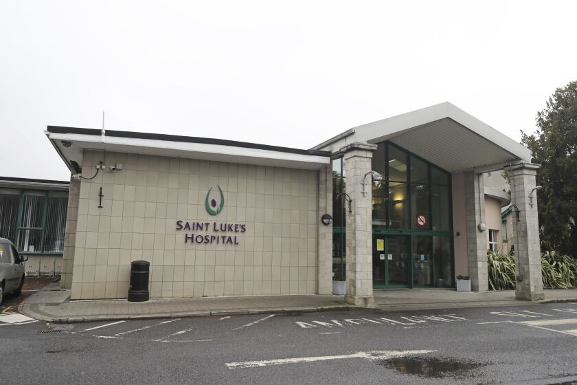 A general view of St Luke's Hospital in Rathgar, Dublin, Ireland