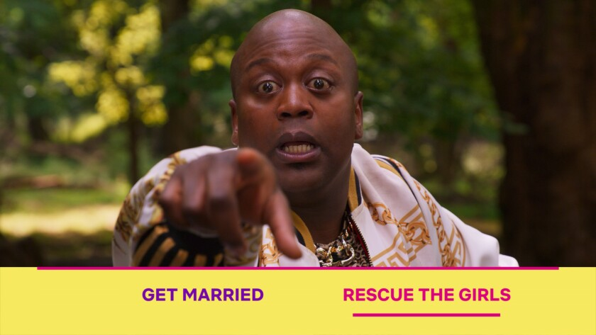 "Titus Burgess in ""Unbreakable Kimmy Schmidt: Kimmy vs. the Reverend"""