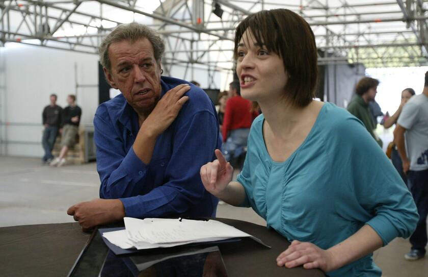 Rod Temperton and Carmen Consoli