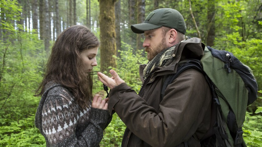 """Thomasin Harcourt McKenzie and Ben Foster are a daughter and father who live off the gird in """"Leave No Trace."""""""
